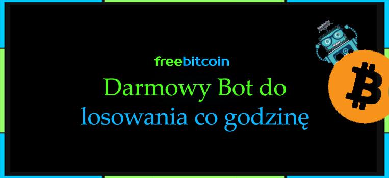 Darmowe Bitcoiny co godzinę – BOT FreeBitco.in