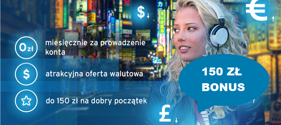 Bonus 150 zł a do tego darmowe Konto w Citi Handlowy